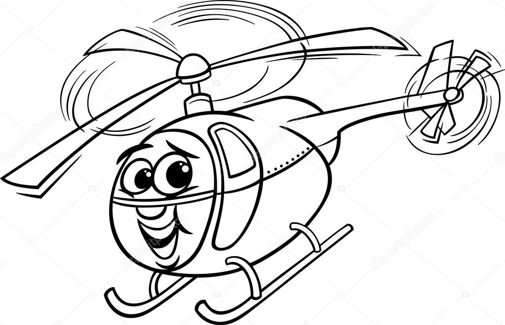 Chopper Helicopter Drawing Helicopter or Chopper