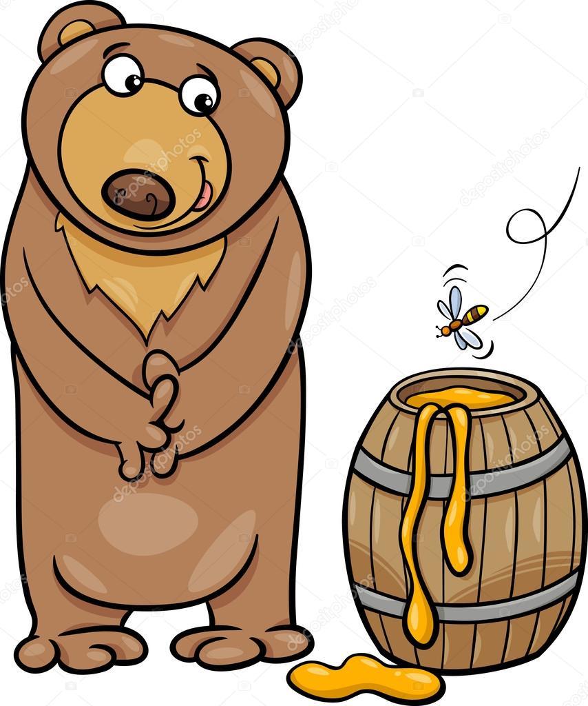 Медведь с мёдом