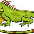 Iguana animal cartoon illustration — Stockvektor  #50123409