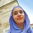 Stock Photo: Beautiful young muslim girl