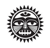 Tatuaż piękny styl polinezji — Wektor stockowy