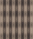 Striped victorian carpet — Stock Vector
