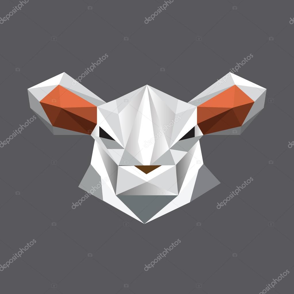 Symbol Sheep Sheep Symbol — Vector by