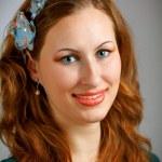 Beautiful redhead portrait — Stock Photo