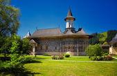 окрашены монастырь сучевица — Стоковое фото