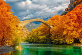 Konitsa bridge — Stockfoto