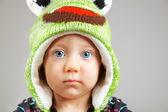 Yeux bleu de bébé — Photo