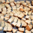 Stock Photo: Roasted croutons