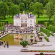 The beautiful Castle Linderhof - Stock Photo