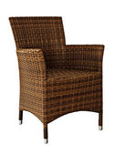 One Wicker Chair — Stock Photo