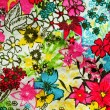 Background floral colorful — Stock Photo