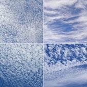 Four picture of sky — Fotografia Stock