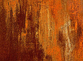 Fragment of iron rusty — Stock Photo