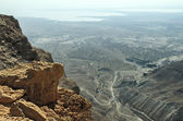 View from fortress Masada, Israel — Stock Photo