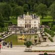 Stock Photo: Beautiful Castle Linderhof. Bavaria