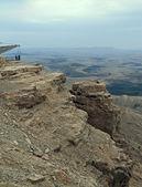Mitzpe Ramon. Negev desert. Ramon Crater. — Stock Photo