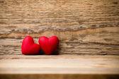 Czerwone serce. — Zdjęcie stockowe