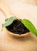 Black tea. — Stock Photo