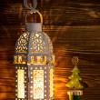 Christmas lantern. — Stock Photo