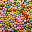 Small colored balls. — 图库照片