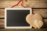 Heart of the cookies. — Stock Photo