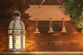 Christmas lantern. — Стоковое фото