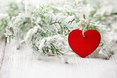 Christmas heart. — Foto de Stock