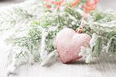 Jul hjärta. — Stockfoto