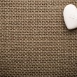 Heart of linen. — Stock Photo