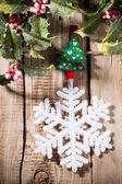 Christmas peg. — Stock Photo