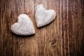 старинное сердце. — Стоковое фото