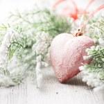 Christmas heart. — Stock Photo #42411643