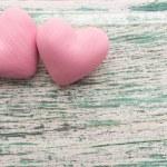 Pink heart. — Stock Photo