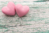Pink heart. — Stock Photo