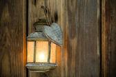 Luce di natale. — Foto Stock