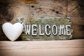 Welcome. — Stock Photo