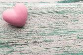 Pink heart. — Stockfoto