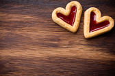 Heart cookies. — Stock Photo
