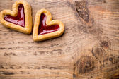 Heart cookies. — Stock Photo