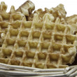 Waffle - Stock Photo