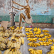 Stock Photo: Bananas on marketplace
