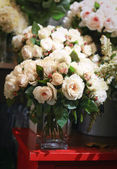 Bunch of flowers roses — Stock Photo