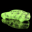 3d automobile - Foto de Stock