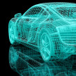 Stock Photo: 3d automobile