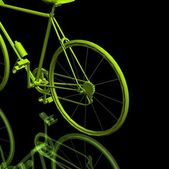 Sports bicycle — Stock Photo