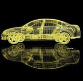 3d automobile — Stock Photo