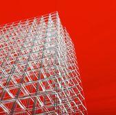 3d ny modern arkitektur — Stockfoto