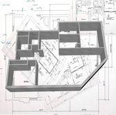 3d architecture moderne nouveau — Photo