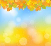 Autumn leaves — Vecteur