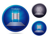 Torah icon set — Stock Vector
